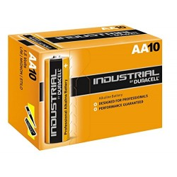 Duracell AA (LR6) Industrial Batteries 10 Pack