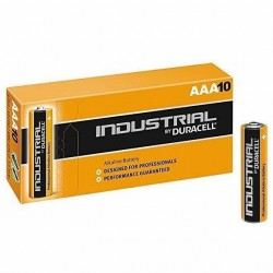 Duracell AAA (LR03) Industrial Batteries 10 Pack