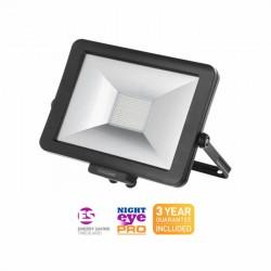TimeGuard 50W LED Professional Floodlight Black
