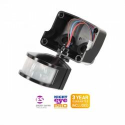 TimeGuard Dedicated PIR Detector for LEDPRO Floodlights - Black