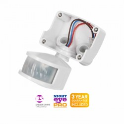 TimeGuard Dedicated PIR Detector for LEDPRO Floodlights - White