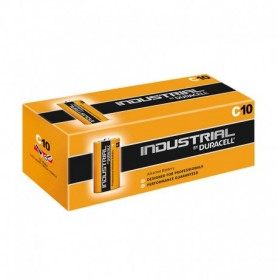 Duracell Industrial C Cell Batteries 10 Box