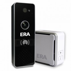 ERA DoorCam - Smart Home WiFi Video Doorbell Black