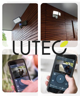 Lutec Security Camera Lighting